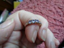 Unbranded Engagement Not Enhanced Three-Stone Fine Rings