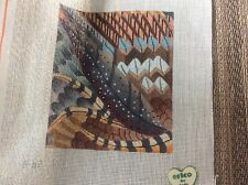 """Erico By dede """"FALL"""" Handpainted 18 Mesh needlepoint canvas NEW!"""