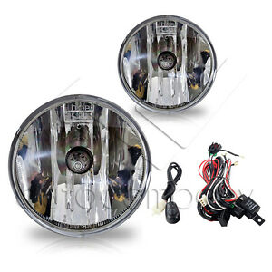 For 07-13 Chevy Tahoe Fog Lights w/Wiring Kit - Clear