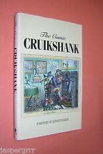 THE COMIC CRUIKSHANK. MARK BRYANT. 1992 1st ED HB-DJ. 19th CENTURY ILLUSTRATION