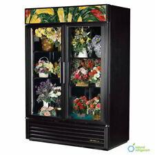 True Refrigeration Gdm 49fc Hctsl01 2 Section Floral Cooler With Swinging Door