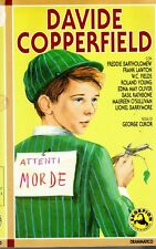 David Copperfield (1935) VHS Skorpion B/N George Cukor Freddie Bartholomew