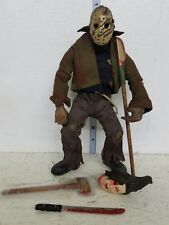 Mezco Cinema of Fear Friday the 13th Jason Voorhees Figure 10in LOOSE Comic Con