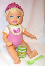 2010 Mattel Little Mommy Baby Doll Everyday Moments Sweet Eats