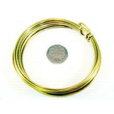 1.5mm Brass Craft Wire Golden 1.75m Coil Accessory DIY Jewellery Making Crafts