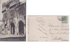 # PIACENZA: PALAZZO GOTICO - LATO DESTRO   1914