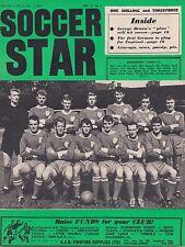 SOCCER STAR 1 OCTOBER 1965 ~ SHREWSBURY TOWN AND CRYSTAL PALACE TEAM PHOTOS