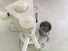 Krups Model 993 4 Cup Espresso Capuccino Maker white Switzerland
