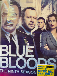 Blue Bloods Season 9 (DVD,2019 5 disc set) Brand New Factory Sealed