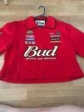 Bud - King Of Beers Red Jacket ~ Chase Authentics ~ Dale Jr. #88 Budweiser XL