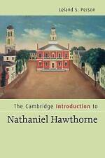 The Cambridge Introduction to Nathaniel Hawthorne (Cambridge-ExLibrary