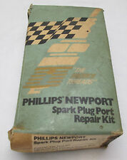Vintage Phillip's Newport Spark Plug Port Repair Kit Snowmobile Phil Mickelson