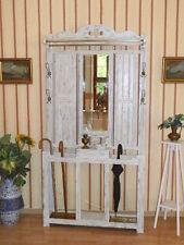 Tolle Jugendstil Wandgarderobe Garderobe Flurgarderobe Eiche um 1920 top Zustand