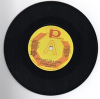 YVONNE BAKER You Didn't Say A Word NEW NORTHERN SOUL DEMO 45 (OUTTA SIGHT) VINYL