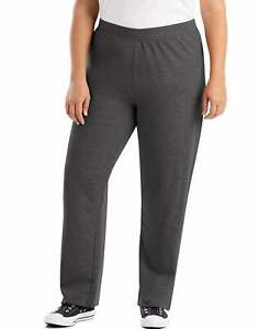 Just My Size Fleece Women Sweatpants Petite Length ComfortSoft EcoSmart sz 1x-5x