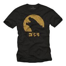 Big Bang Dinosaurier Herren Nerd TShirt mit Godzilla Theory - Männer Comic Shirt