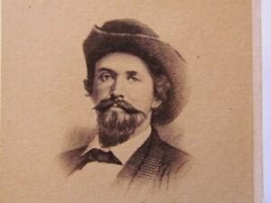 Confederate Civil War General John Hunt Morgan cdv photograph