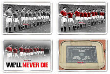 United Fridge Magnet Busby Babes Line Up Remembrance Magnet 7 x 4.5cm Gift