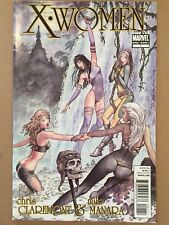 X-WOMEN #1 MILO MANARA ART CHRIS CLAREMONT VF 1ST PRINTING PSYLOCKE STORM ROGUE