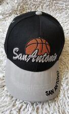 Black Hawk San Antonio Basketball Hat Cap 100% Acrylic Baseball cap