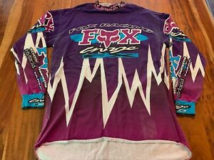 Vintage Fox Racing Jersey - 100% Cotton - size XL