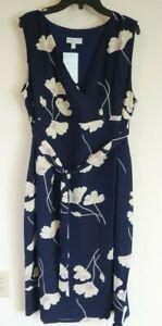 NWT JoJo Maman Bebe Floral Sleeveless Maternity Dress Size 12