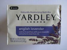 *** 2-PK NEW YARDLEY London English Lavender 4.25 Oz Bath Bar Soap