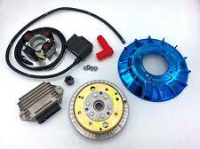 Accensione VMC cono 19mm - ventola alluminio BLU - 1,4Kg - Vespa 50/ 50 Special/