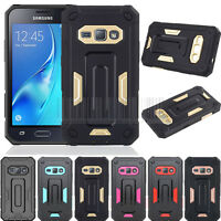 Hybrid Case Shockproof Hard Armor Cover For Samsung Galaxy J1 2016/Express 3