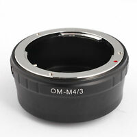Camera OM-M4/3 Olympus OM Lens to M4/3 M43 Micro Four Thirds Adapter Ring E-PL1
