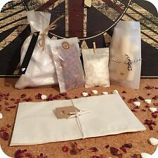 10x GLASSINE BAGS envelopes gift wrap vintage wedding favour party sweets candy