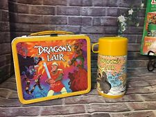 Dragon's Lair Lunchbox w/ Thermos Vintage 1983 Aladdin Great Shape!