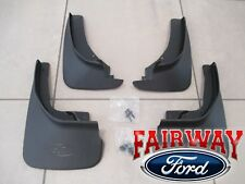 18 thru 19 Explorer OEM Genuine Ford Molded Splash Guards Mud Flaps Set of Four