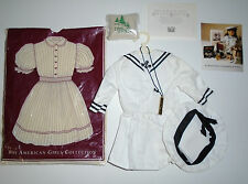 Tagged 1990 Pleasant Company American Girl Samantha's Summer Middy Outfit & More