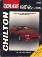 CHEVROLET CAMARO, BERLINETTA, Z28, Iroc, LT, RS, Sport, V6, V8, Manuale di Officina 1982-1992