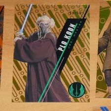 Topps 2016 STAR WARS High Tek Card SW-33 PLO KOON 09/50 Carte