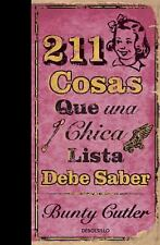 211 cosas que una chica lista debe saber (Spanish Edition) by Cutler, Tom