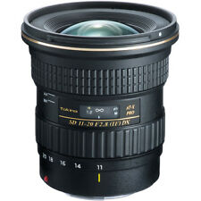 New Tokina AT-X 11-20mm f/2.8 PRO DX Lens - Canon EF