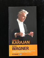 ¤ 2 CD et livret - KARAJAN - RICHARD WAGNER - collection Le Figaro