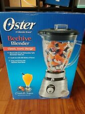 Oster Classic Chrome Beehive 2-Spd Blender 5000 (Made in USA)