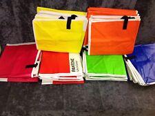 Shopper Storage Bag x23 Zipped Large 65x55x30cm Mixed Colours WHOLESALE NEW (A)