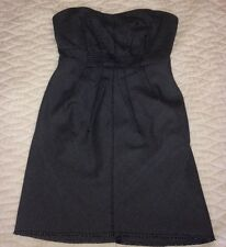 Urban Outfitters Strapless Dress . Silence+noise. back Zip. FREE SHIP. POCKETS