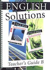 English Solutions: Teacher's Guide B for Books 4-5, Good Books
