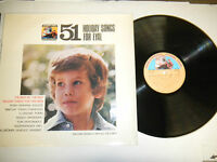 33RPM Jazz Vinyl 51 Holiday Songs for Eyal w/book of lyricsMINTSA32029 111612LAE