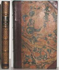 1844 AU JOUR LE JOUR BY FREDERIC SOULIE ANTIQUE BINDING