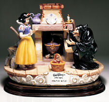 Disney Snow White Witch with apple Capodimonte Laurenz C.O.A. Original Box