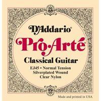 D'Addario Ej45 Pro Arté cuerdas para guitarra clásica - Normal Tensión