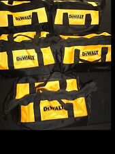 (5) DEWALT 20V 20 VOLT STORAGE BAGS DESIGNED FOR 12V MAX & 20V TOOLS