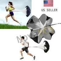 """40"""" 48"""" 56""""in Speed Training Resistance Parachute Chute Power For Running Sport"""