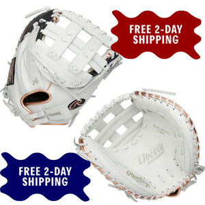 "Rawlings Liberty Advanced 33"" Fastpitch Softball Catcher's Mitt RLACM33RG"